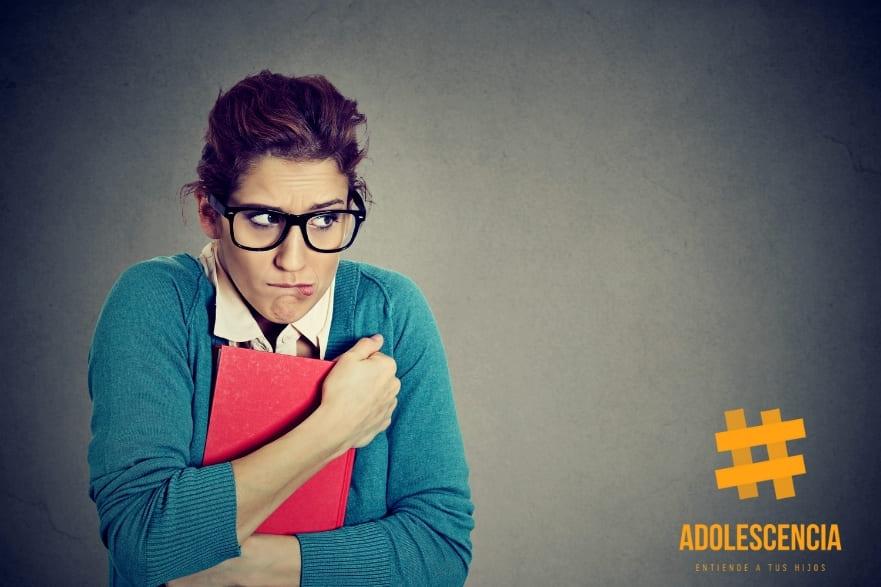 Adolescente insegura
